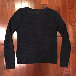 Forever 21 Cable Knit Pocket Sweater Size Medium
